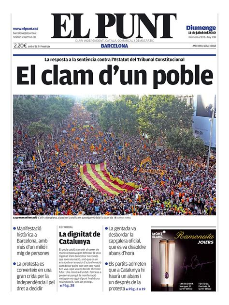 Front Page: All Of Spain Behind La Roja?