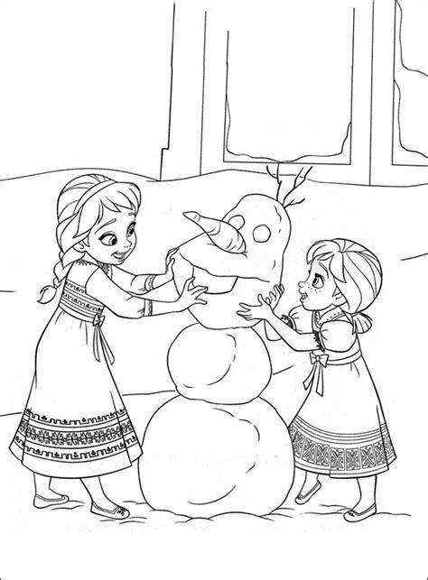 Frozen   Dibujos para imprimir y colorear