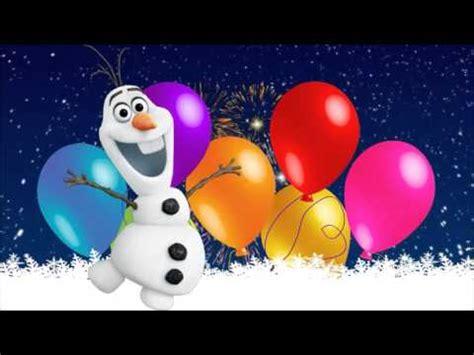 Frozen ¡Happy Birthday! ¡Feliz Cumpleaños!   YouTube