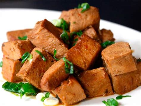 Frozen Tofu Braised in Soy Sauce Recipe | Serious Eats