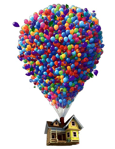 ftestickers balloon house floating levitation @danial89...