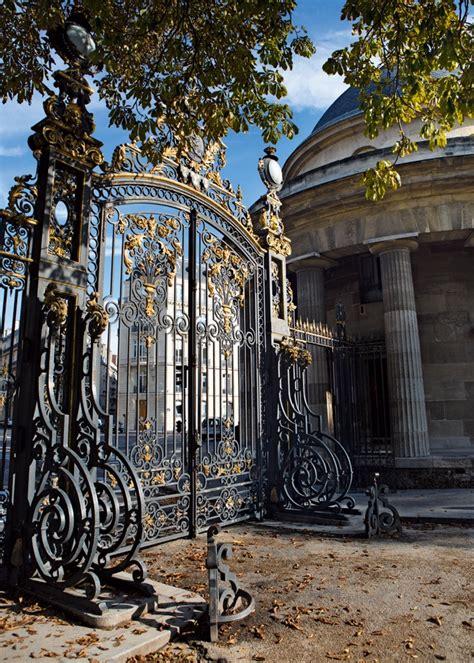 fue en París | Escaleras de hierro forjado