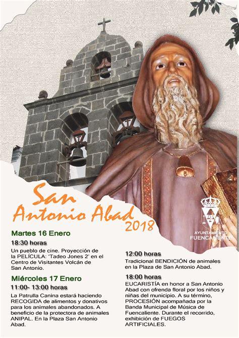 Fuencaliente celebra mañana el día de su patrón, San ...