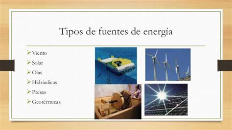 Fuentes de energia que no contaminan