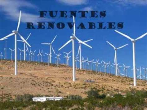Fuentes de energia renovables y no renovables   YouTube