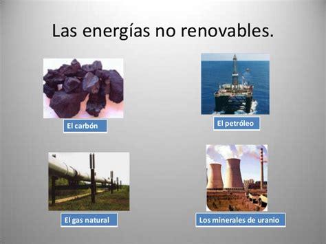 Fuentes de energías