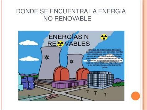 Fuentes de energias no renovables