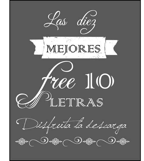 Fuentes de letras gratis para tus carteles   Descargar ...