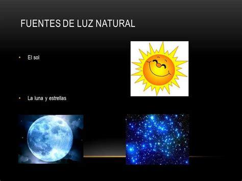Fuentes luminosas naturales y artificiales   YouTube