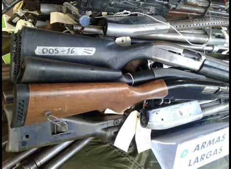 Fuerza Armada destruye más de 2,800 armas | El ...