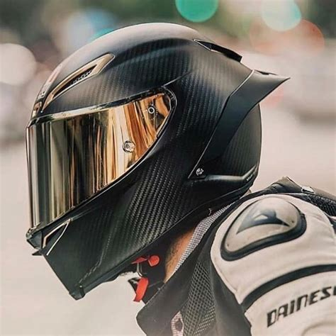 Full Face Carbon Fiber Motorcycle Helmet Professional ...
