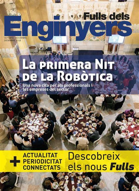 Fulls dels Enginyers 290 by Col·legi d Enginyers ...