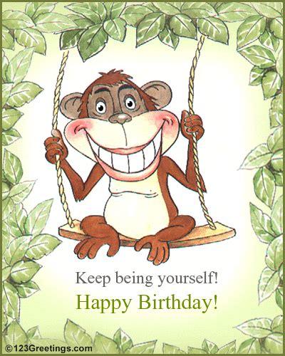 Fun Birthday Card! Free Smile eCards, Greeting Cards | 123 ...