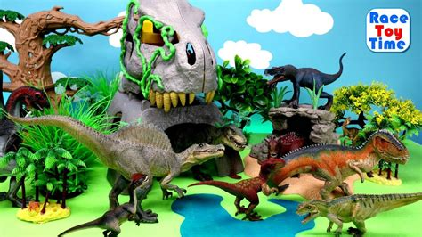 Fun Dinosaurs Toys For Kids   Let s Learn Dino Names ...