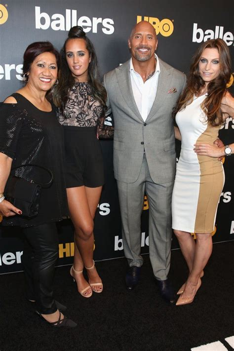 Fun Fact: Dwayne Johnson s Family Is Just as Genetically ...
