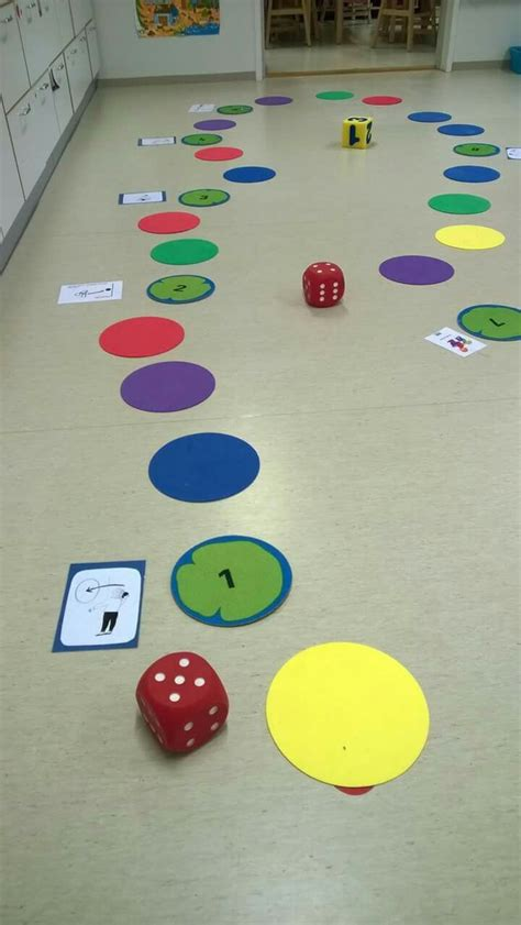 Fun gross motor board game idea for preschool and early ...