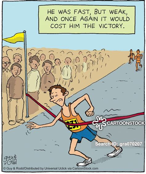 Fun Runs Cartoons and Comics   funny pictures from ...
