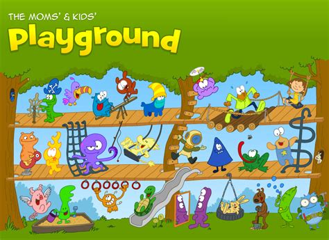 Funbrain   The Moms  and Kid s Playground on Behance