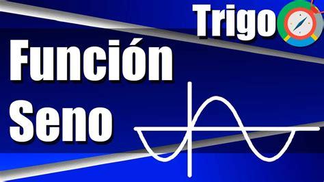 Función Trigonométrica Seno   Ejercicios Resueltos   YouTube