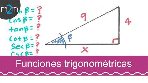 Funciones trigonométricas │ejercicio 1   YouTube