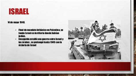 Fundación del Estado de Israel