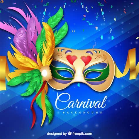 Fundo realista de carnaval brasileiro | Baixar vetores grátis