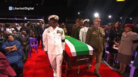 Funeral de Estado para despedir a Nelson Mandela   YouTube