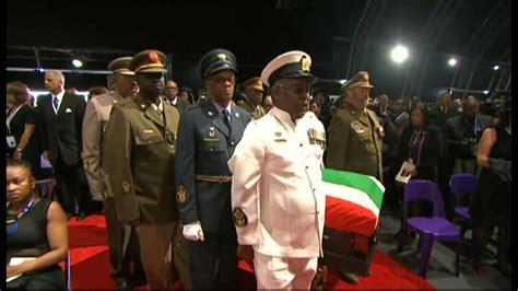 Funeral farewell to Nelson Mandela   YouTube