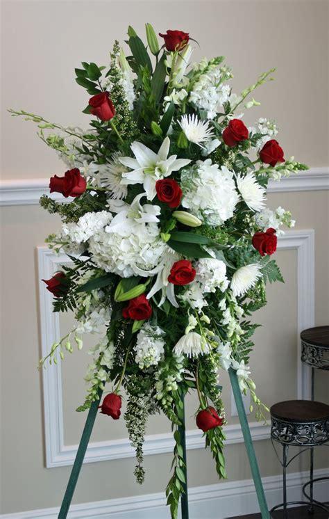 funeral floral arrangements sympathy arrangements   Port ...