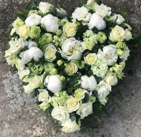 Funeral flowers   White Rose Modern Funerals