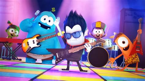Funny Animated Cartoon | Spookiz | Rock Concert | 스푸키즈 ...