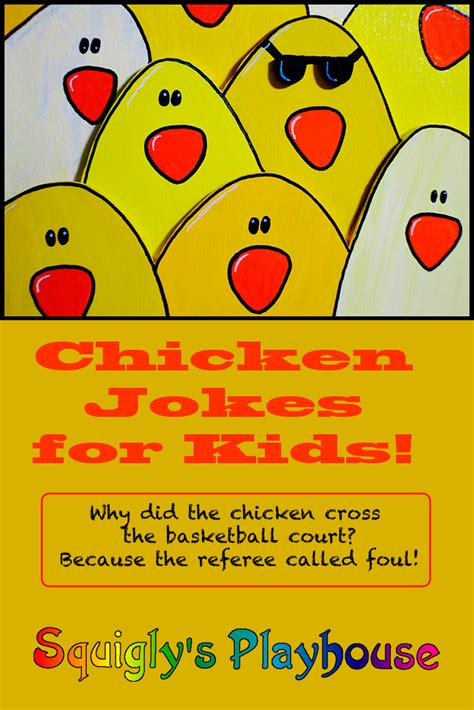 Funny Chicken Jokes for Kids   Squigly's Playhouse
