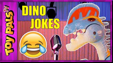 Funny DINOSAUR JOKES for Kids   Toy Dinosaur Comedy Club ...