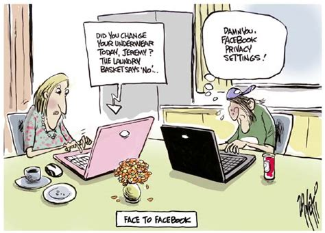 Funny Facebook Cartoons   1   Just For Laugh!
