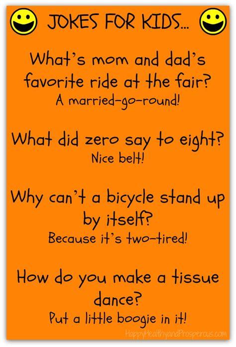 Funny Friday: Jokes for Kids   Happy, Healthy & Prosperous