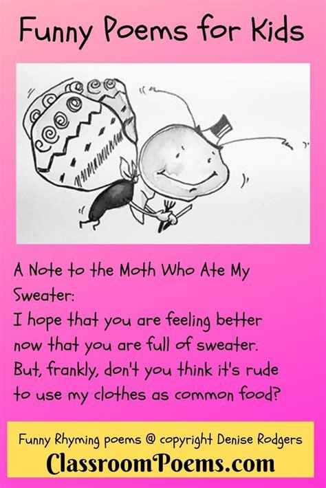 Funny Rhyming Poems