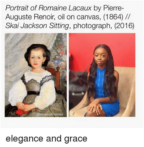Funny Skai Jackson Memes of 2017 on SIZZLE | Looking in ...