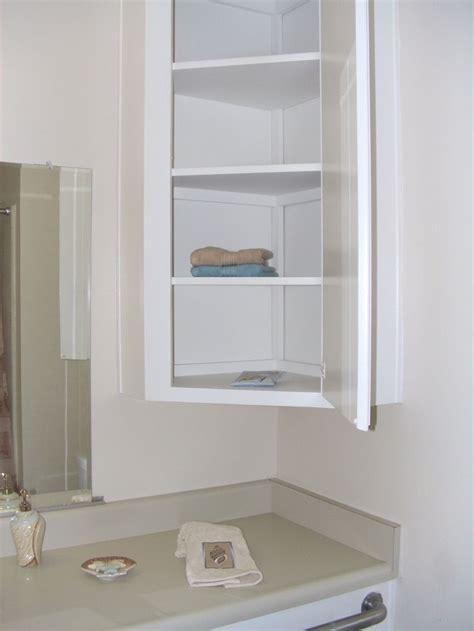 Furniture Wall Mounted Bathroom Corner Cabinet With Shelf ...