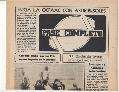 Futbol Americano Periodico Paso Completo 1983 No 4   $ 325 ...
