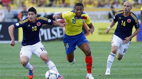 Fútbol   Colombia en deuda: no gana en Ecuador hace 21 ...