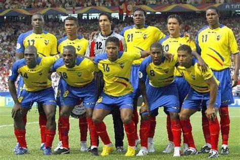 futbol del Ecuador