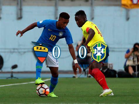 Fútbol Ecuador Selección Nacional  0 0  Ecuador empató con ...
