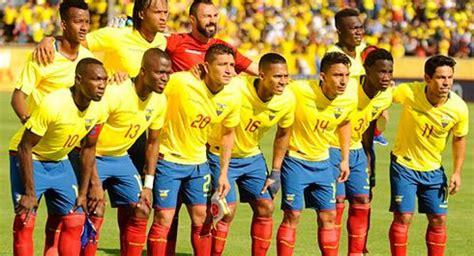Fútbol Ecuador Selección Nacional Clasificación FIFA ...