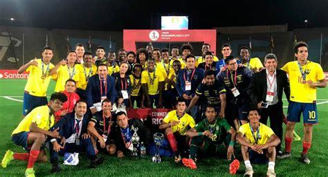 Fútbol Ecuador Selección Nacional La Selección Sub 17 de ...