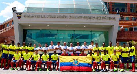 Fútbol Ecuador Selección Nacional La Selección Sub 20 de ...