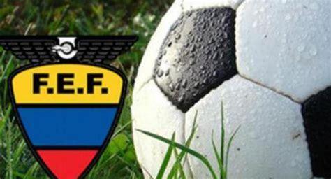 Fútbol Ecuador Serie A Calendario completo de la segunda ...