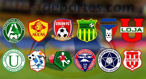 Fútbol Ecuador Serie B Calendario completo de la primera ...