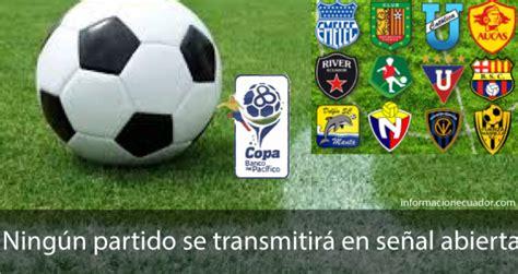 Fútbol Ecuatoriano ya no se vera por televisión ABIERTA