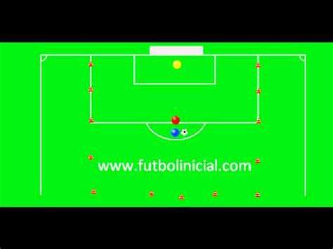Futbol  Ejercicio Tactico  1    YouTube