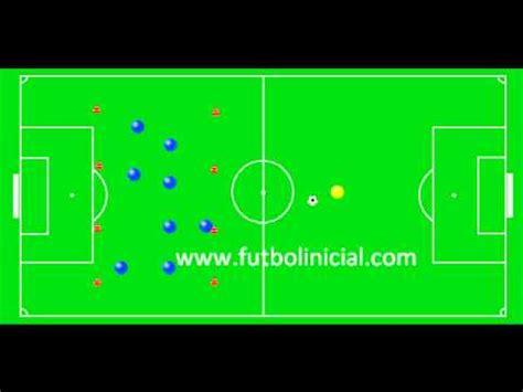 Futbol  Ejercicio Tactico Defens Cobertura   YouTube